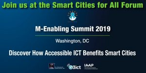 Smart Cities @ m-Enabling 2019 @ Washington, DC